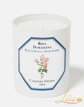 LUXURY FRAGRANCE CANDLE CARRIÈRE FRÈRE WHITE ROSE